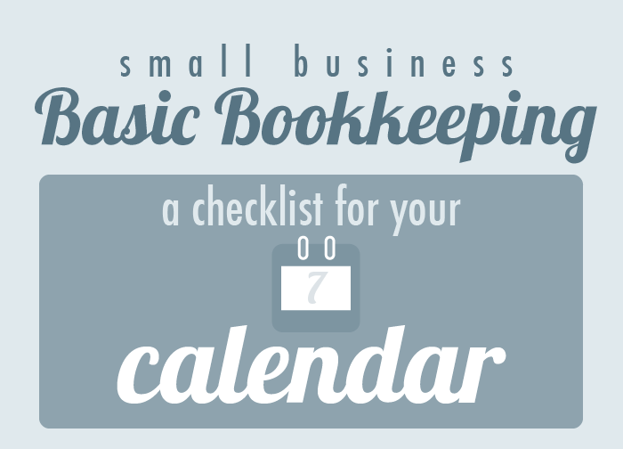 Virtual Bookkeeping Checklist: The Basics for Small Businesses