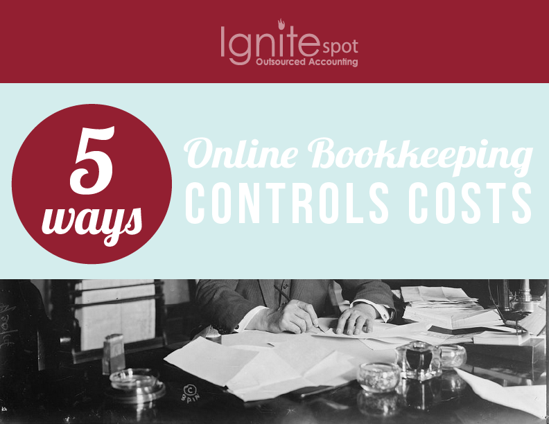 How Online Bookkeeping Controls Costs