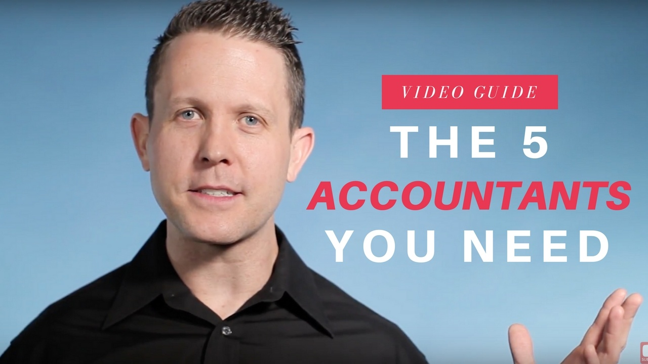5 Types of Accountants You Need